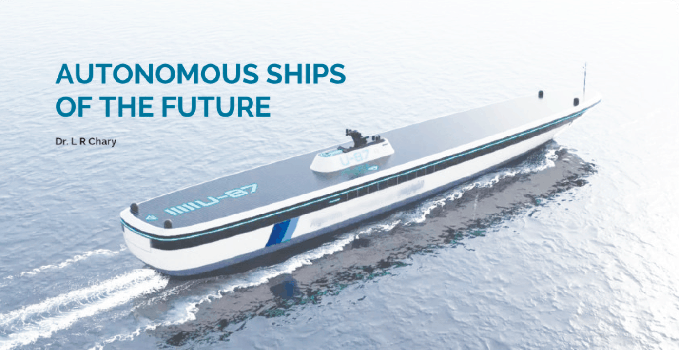 Article on autonomous ships - TheNavalArch