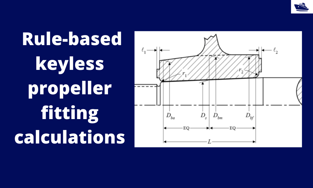 How to do rule-based fitting calculations of a keyless propeller