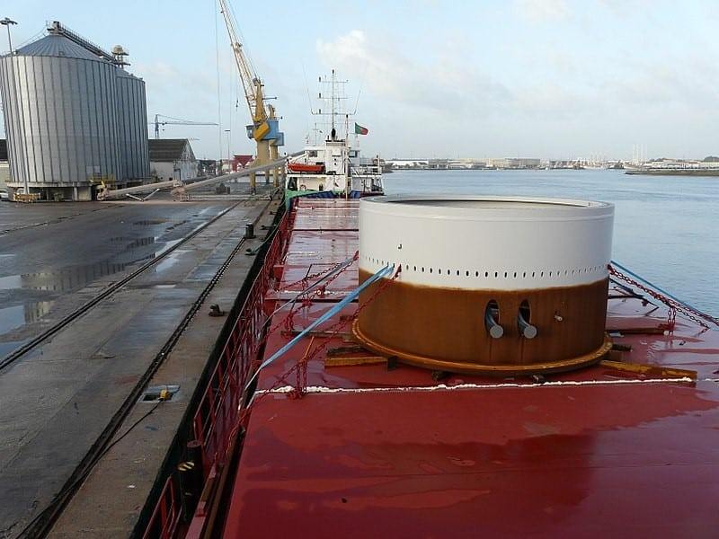 Calculating forces on a ship's deck cargo – a simplified approach