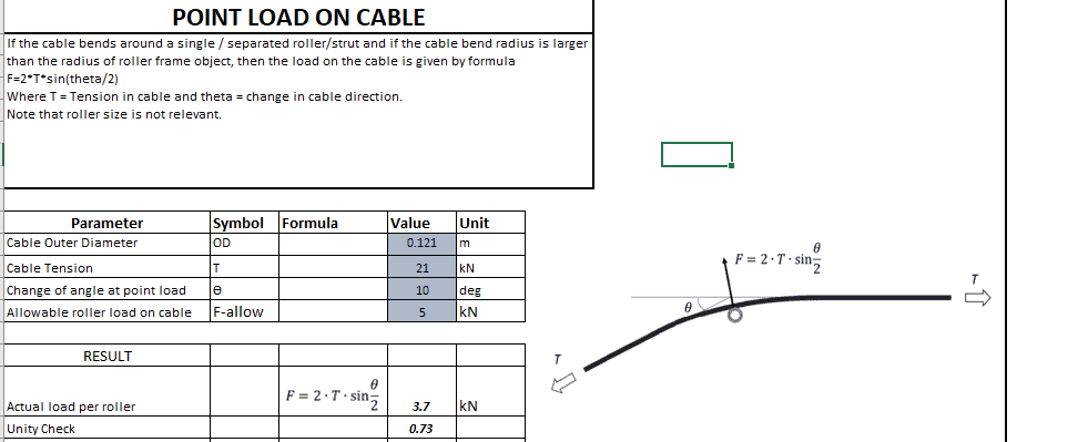 Subsea Cable Calculator TheNavalArch 4