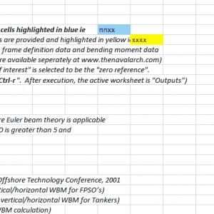 TNA Hull Deflection Calculator TheNavalArch
