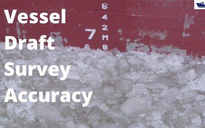 Vessel Draft Survey Accuracy