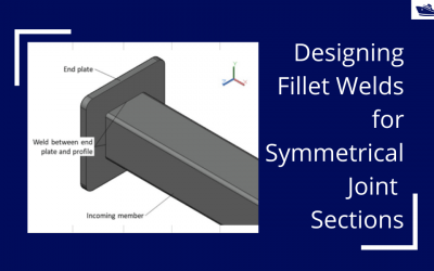 Designing Fillet Welds for Symmetrical Joint Sections